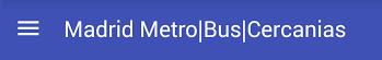 Madrid Metro Bus Cercanías App